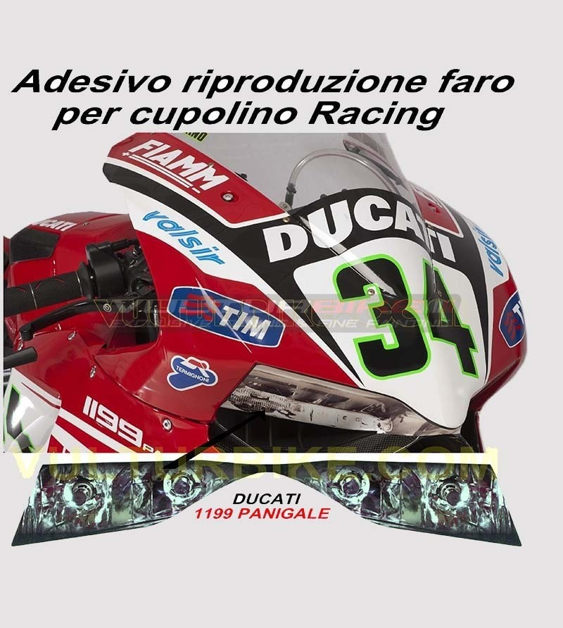 Sticker Reproduction Light - Ducati Panigale 899/1199