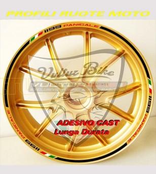 Pegatinas de ruedas de diseño especial - Ducati Panigale 899/1199/1299/S/R