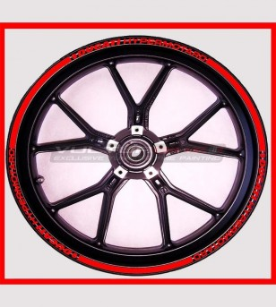 Colored adhesive stickers for wheels - Ducati Hypermotard