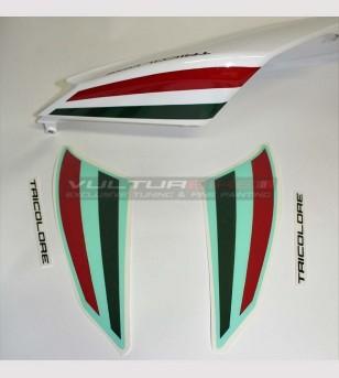 Pegatinas tricolores para coleta - Ducati Panigale 1199