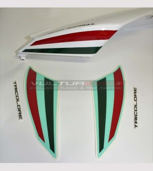Tricolor stickers for tail - Ducati Panigale 1199