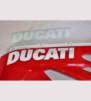 Pegatina del carenado inferior tricolor izquierdo - Ducati 899 / 1199 / 1299 / 959 / V2 2020