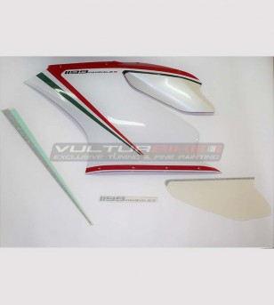 Left side fairing stickers...