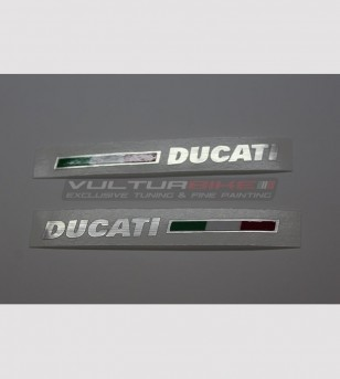 Tail colored stickers - Ducati Panigale 899 / 1199 / 1299 / 959 / V2 2020