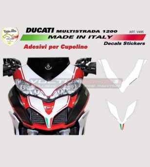 Sticker for front fairing -...