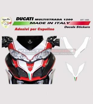 Pegatinas de domo - Ducati Multistrada 950/1200/1260/ENDURO