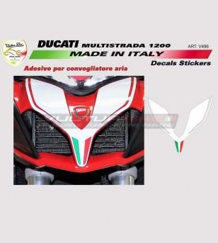 Adesivi per convogliatore - Ducati Multistrada 950/1200 2015/17