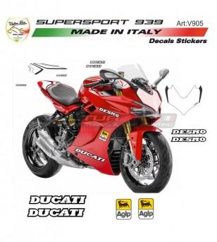 Kit adesivi Desmo design - Ducati Supersport 939