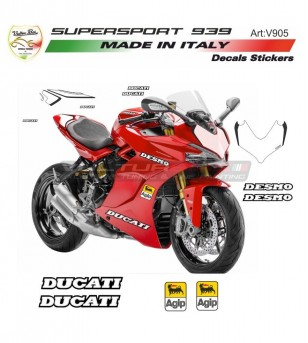 Kit de pegatinas de diseño Desmo - Ducati Supersport 939