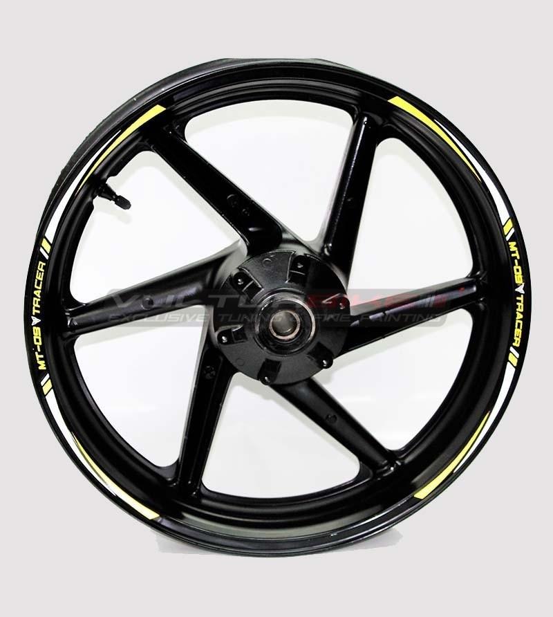 Wheel stickers - Yamaha MT 09 Tracer