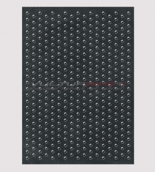 Side anti-slip protection carbon effect