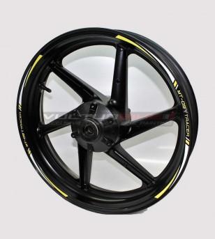 Aufkleber Räder - Yamaha MT 09 Tracer