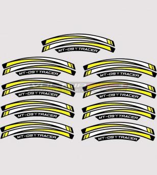 Adesivi Ruote - Yamaha MT 09 Tracer