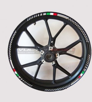 Stickers for Universal Motorcycle Wheels