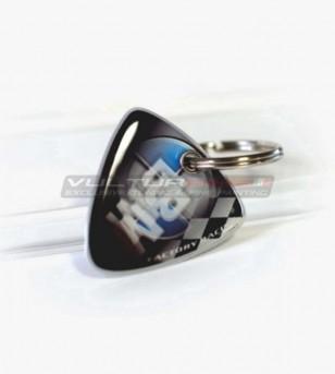 Llavero bi-facial resinado - BMW