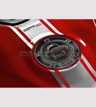 Protección de resina para tapa de combustible - Ducati hasta 2008