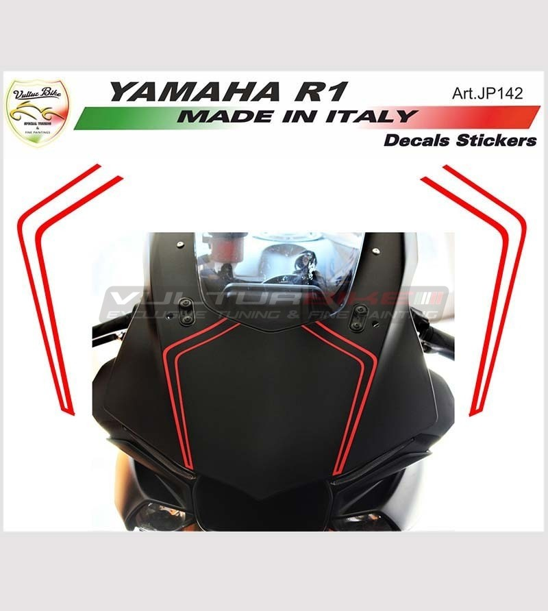 Rayas adhesivas Cupolino - Yamaha R1 2015-2018