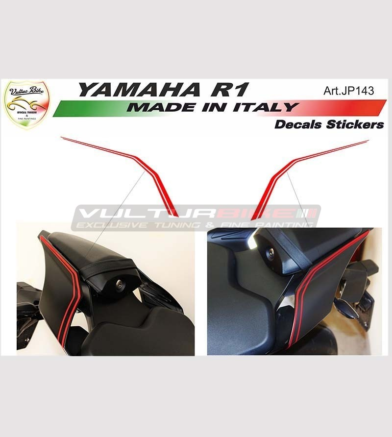 Sticker Strips for Tail - Yamaha R1 2015-2018