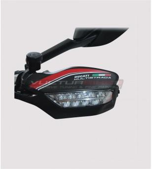 Carbon handguards cover - Ducati Multistrada 1200/1260/950/Enduro