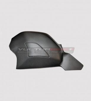 Copri forcellone in carbonio completo di slider  - Ducati Panigale V4 / V4S / V4R