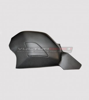 Cubierta de basculante de carbono completa con deslizadores - Ducati Panigale V4 / V4S / V4R