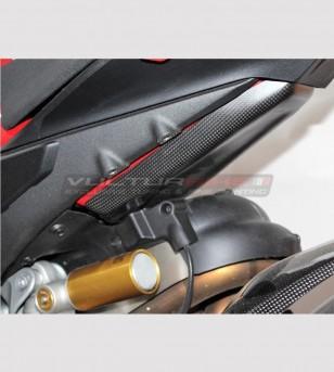 Protezione inferiore serbatoio in carbonio - Ducati Panigale V4 / V4S / V4R