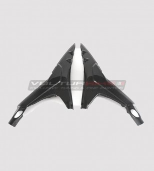 Carbon under-seat frame protections - Ducati Panigale V4 / V4S / V4R