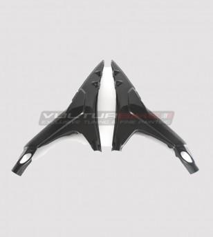 Protezioni telaietto sottosella in carbonio - Ducati Panigale V4 / V4S / V4R