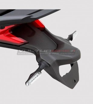 Portatarga in carbonio - Ducati Multistrada 1200 2015/17