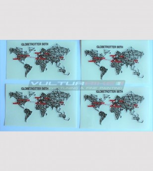 Stickers' kit Globetrotter 90 TH - Ducati Multistrada 1200/1260