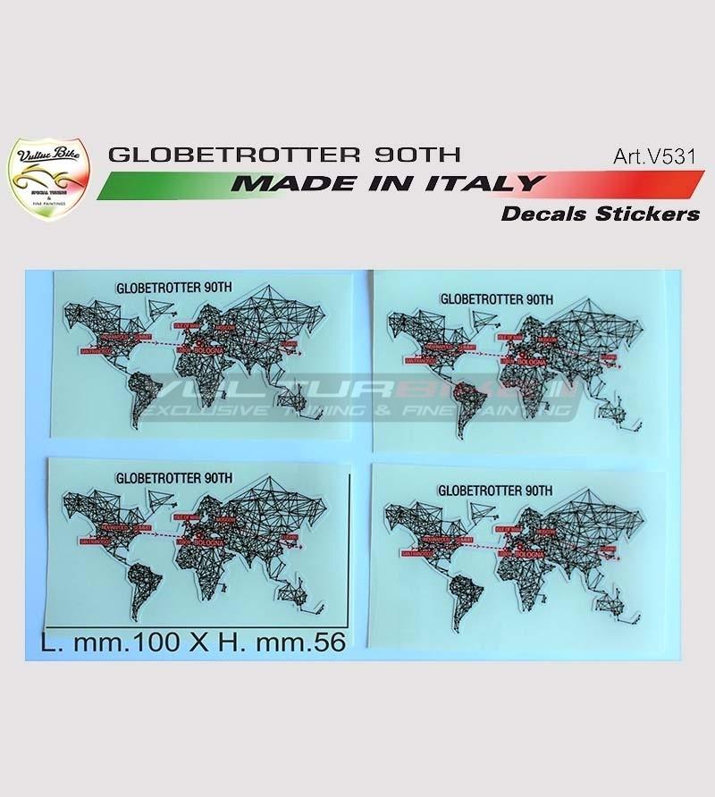 Kit adesivi Globetrotter 90 TH - Ducati Multistrada 1200/1260