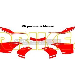 Pikes Peak Design Klebeset - Ducati Multistrada 1200 2010/14