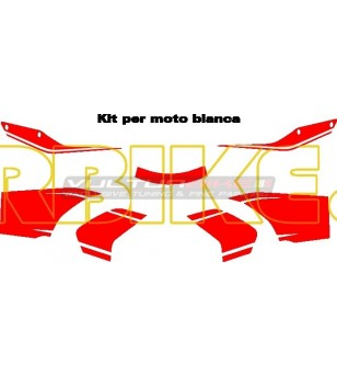 Stickers' kit Pikes Peak design - Ducati Multistrada 1200 2010/14