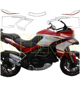 Stickers' kit Pikes Peak design - Ducati Multistrada 1200 2010/14