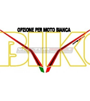 Rossoneri Kuppel Aufkleber - Ducati Multistrada 1200 2010/2014