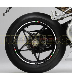 Wheels Stickers - MV Agusta Corse F4