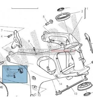 Ducati Panigale V4R frame brackets for V4 / V4S restyling