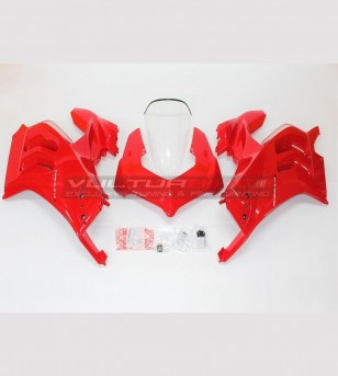 Upper fairings kit without...
