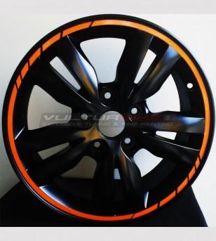 Perfiles adhesivos para ruedas de automóviles y motocicletas