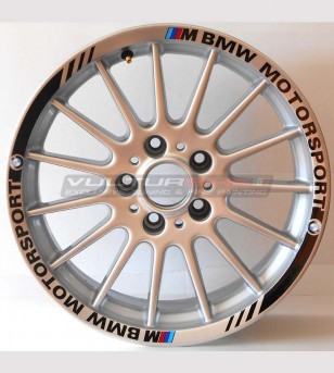 Sticker Strips Motorsport- BMW Car wheels