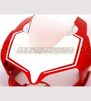 Front fairing number plate sticker - Ducati Panigale 899/1199
