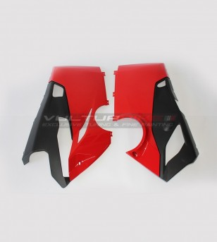 Red lower half-fairings -...