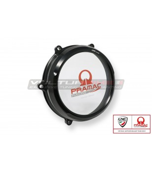 Clear oil bath clutch cover...