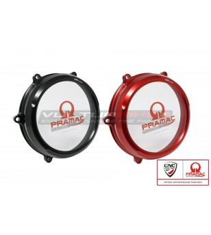 Clear oil bath clutch cover Ducati Panigale V4 - Pramac Racing Limited Edition