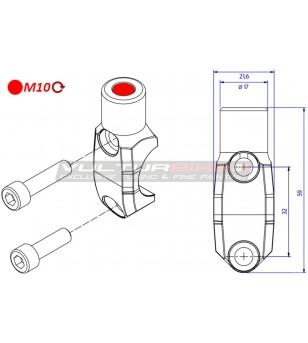 Cavallotto pompe Brembo - foro specchio filettatura M10 destra