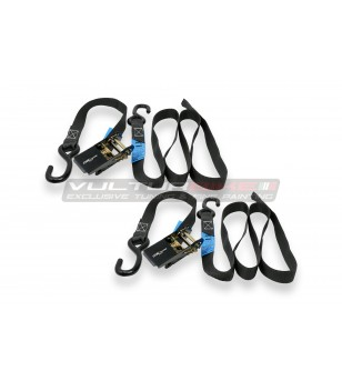 MOTORCYCLE TIE DOWN RATCHET STRAP KIT