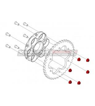 Nuts ring gear Ducati M8x1.25 - Titanium