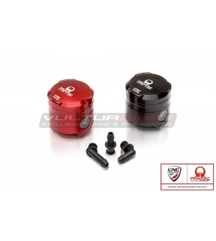 Fluid oil reservoir brake-clutch 25 ml MONOCHROME included three outflow PRAMAC RACING Limited Edition