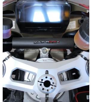 Carbon Lenkstoßdämpferabdeckung - Ducati Panigale V2 / V4