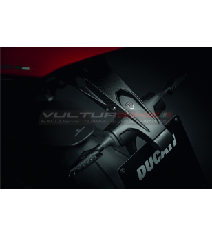 License plate holder in carbon - Ducati Panigale V4 / V2 / Streetfighter V4